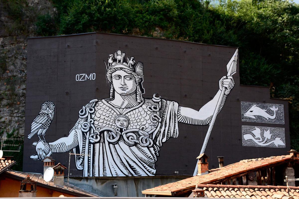 """""""Minerva"""" di Ozmo – WALL IN ART"""