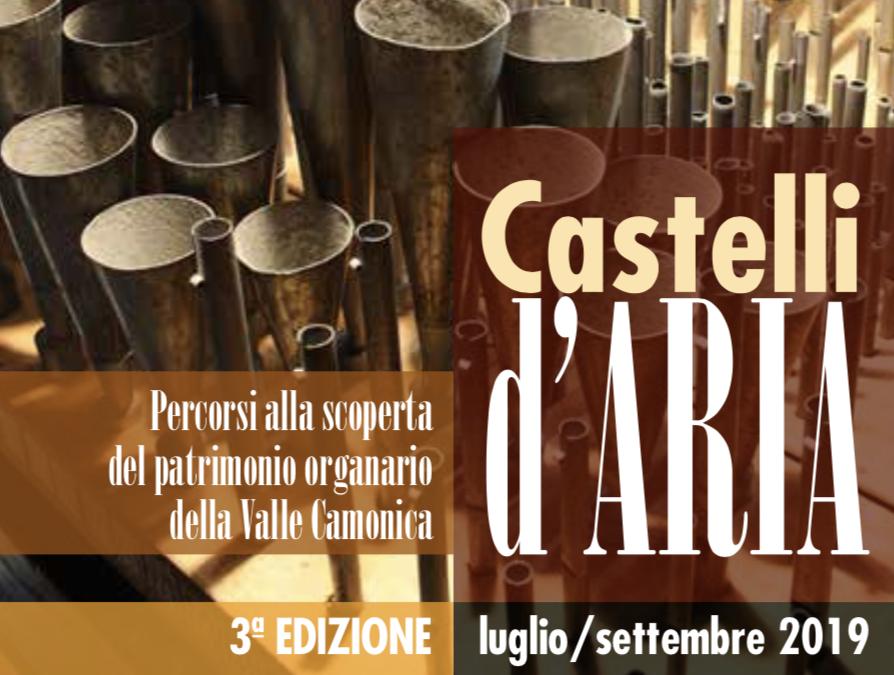 Castelli d'Aria 2019 alla scoperta degli Organi della Valle Camonica